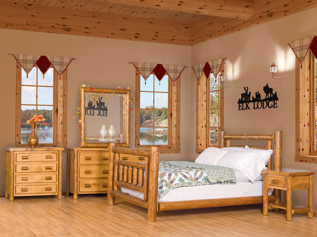 Good Log Bedroom Sets