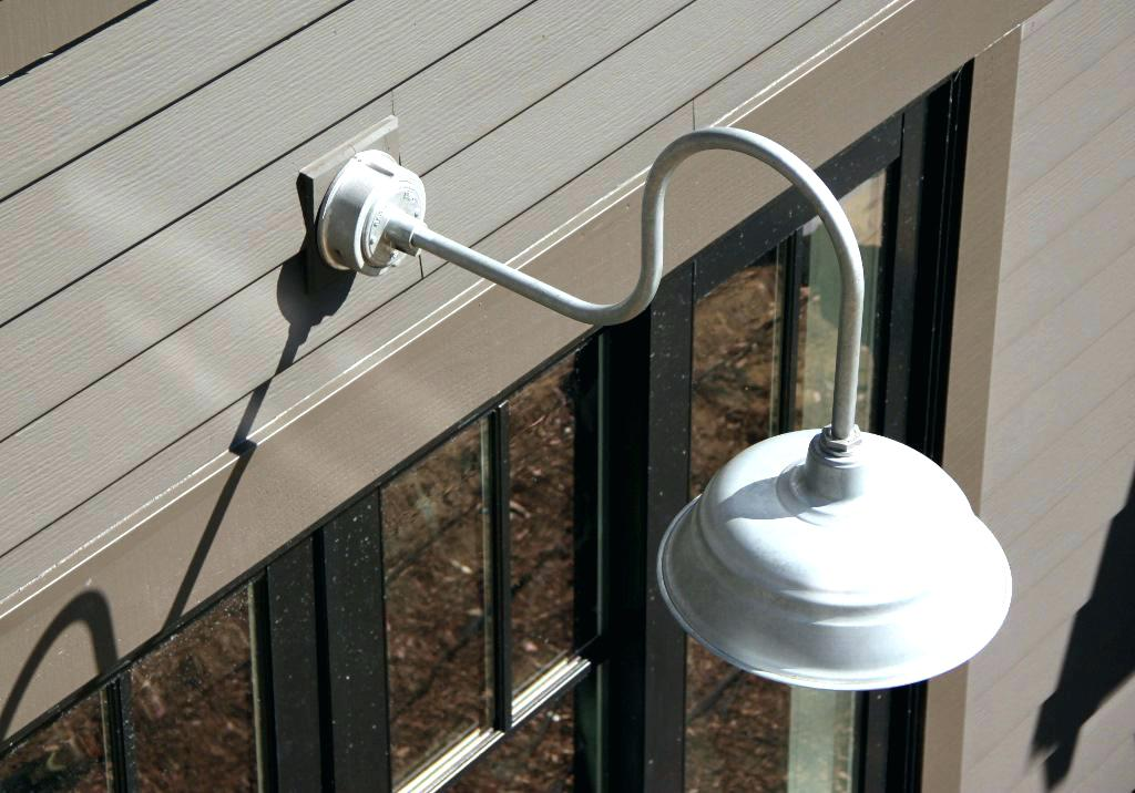 Picture of: Gooseneck Outdoor Light Style