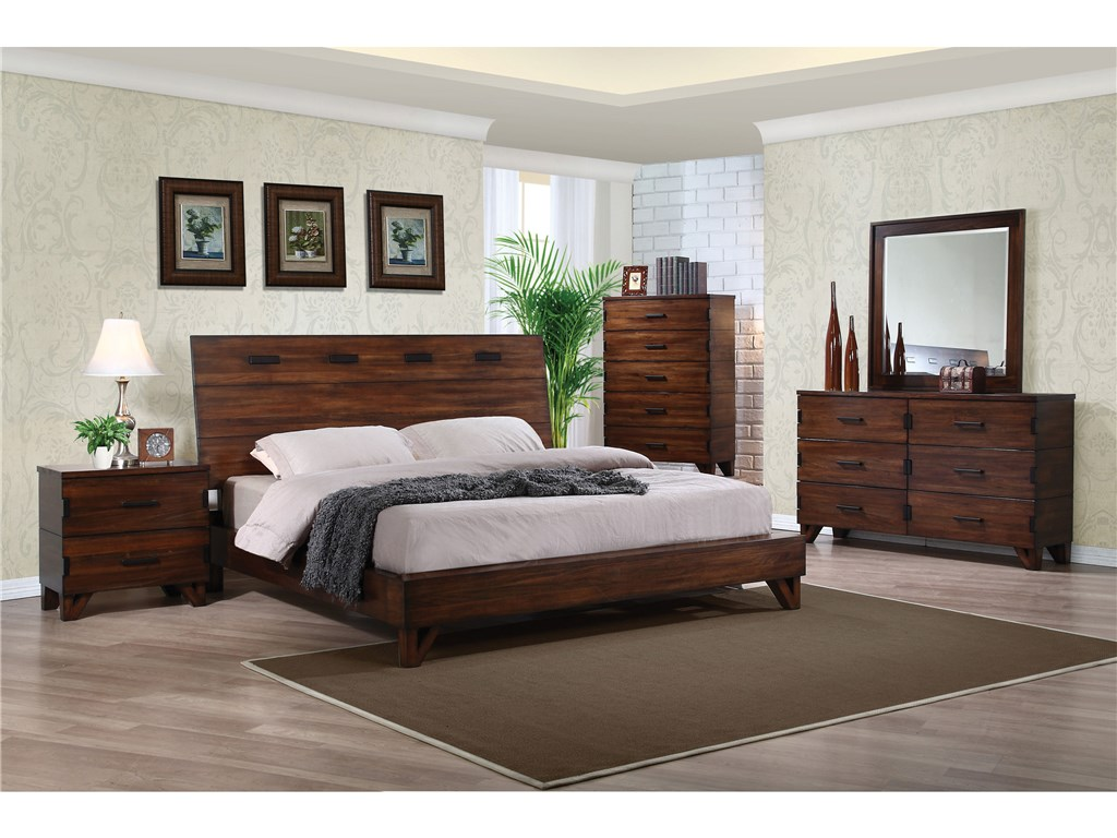 Image of: Gorgeous Coaster Furniture Bedroom Sets