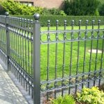 Gray Decorative Fence Ideas