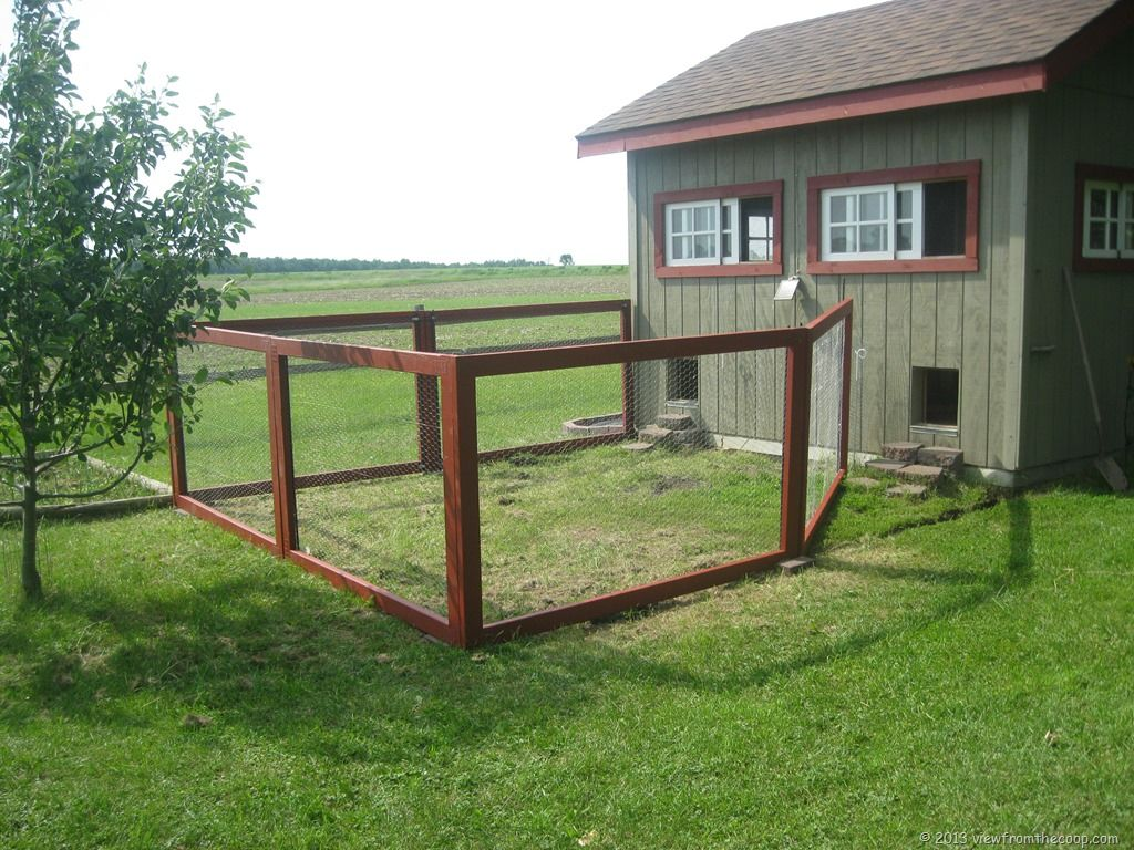 Picture of: Great Chicken Fence Ideas