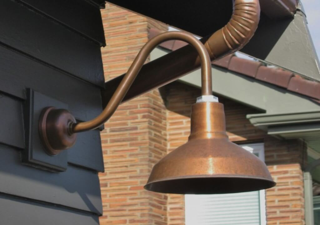 Picture of: Great Copper Outdoor Lighting