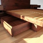 Great DIY Bed Frame with Storage