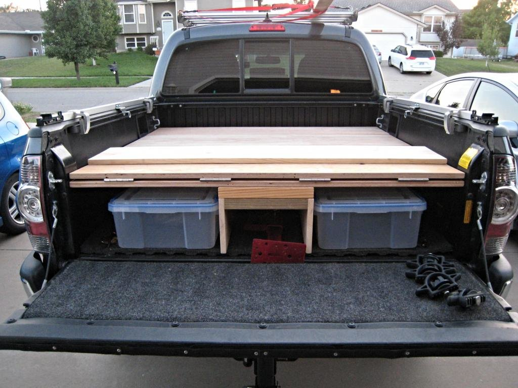 Great Decked Truck Bed Storage