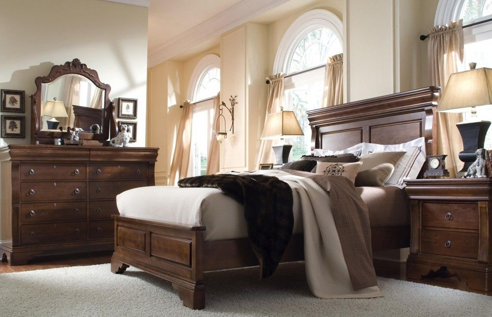 Image of: Great Solid Wood Bedroom Sets Ideas