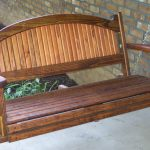 Great Wooden Bench Swing