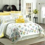 Grey And Yellow King Comforter Sets