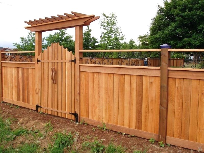 Picture of: Harmful Wood Fence Gate Designs