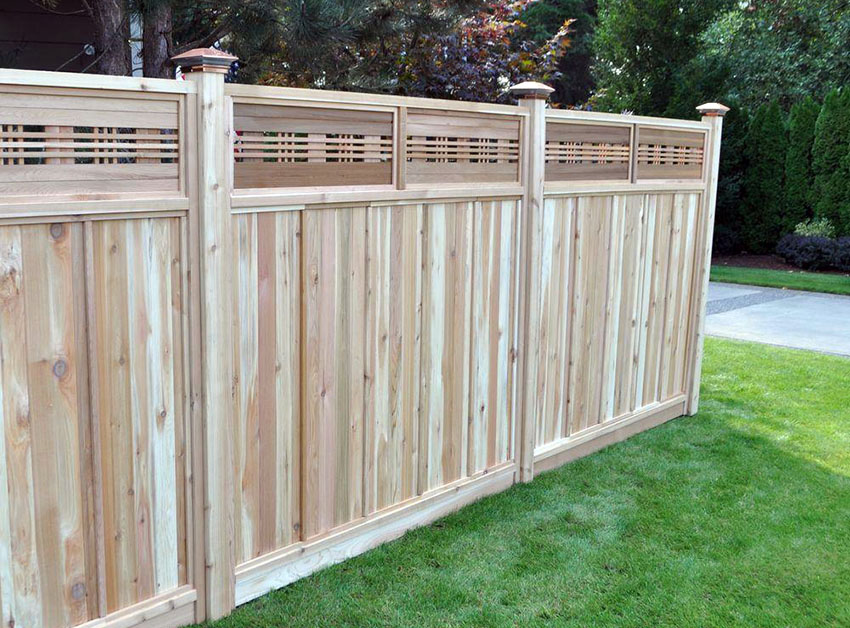 Picture of: Height Wood Fence Images