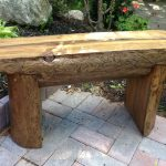 Homemade Wooden Bench Decor