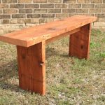 Homemade Wooden Bench Solid