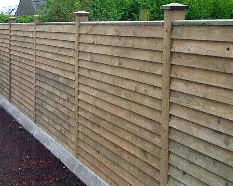 Picture of: Horizontal Fence Ideas Panel