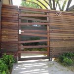 Horizontal Wood Fence Gate Designs