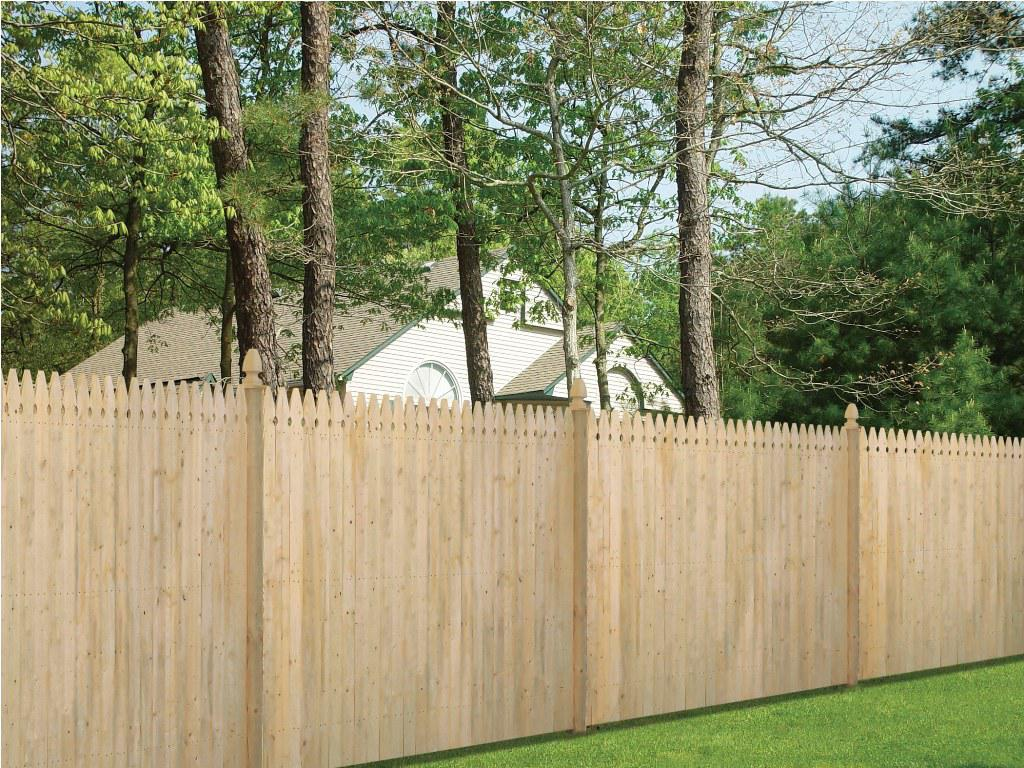 Picture of: Horizontal Wood Fence Panels Build