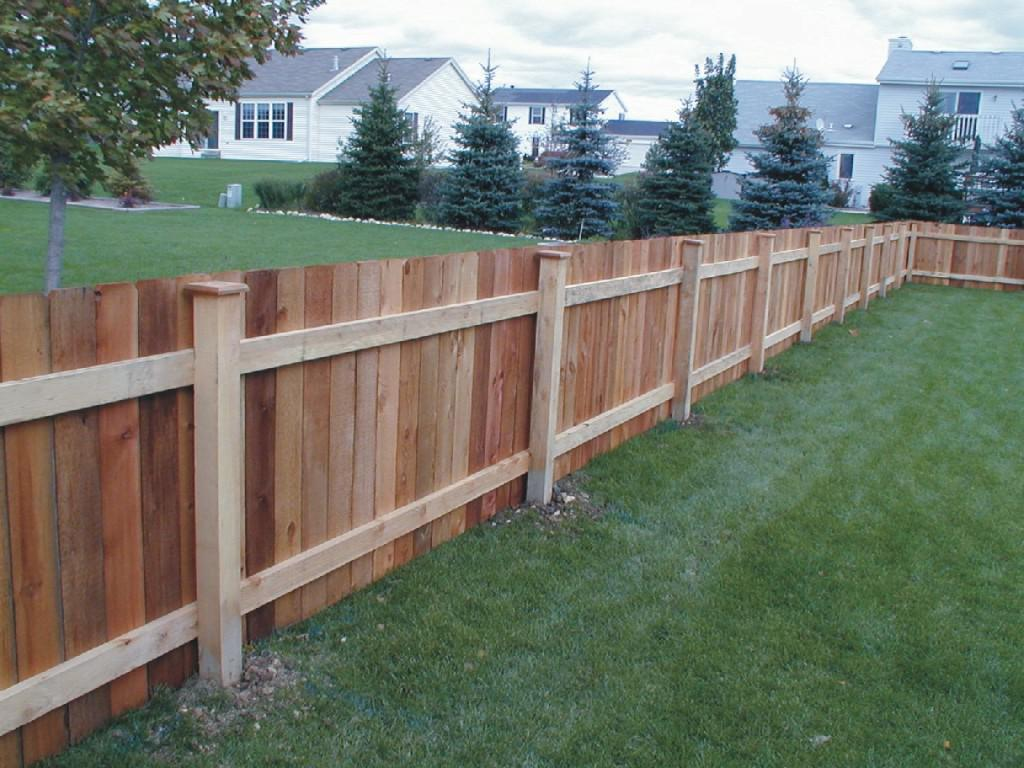 Picture of: Horizontal Wood Fence Panels Home