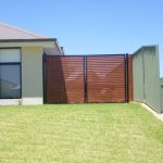 Horizontal Wood Fence Panels Lux