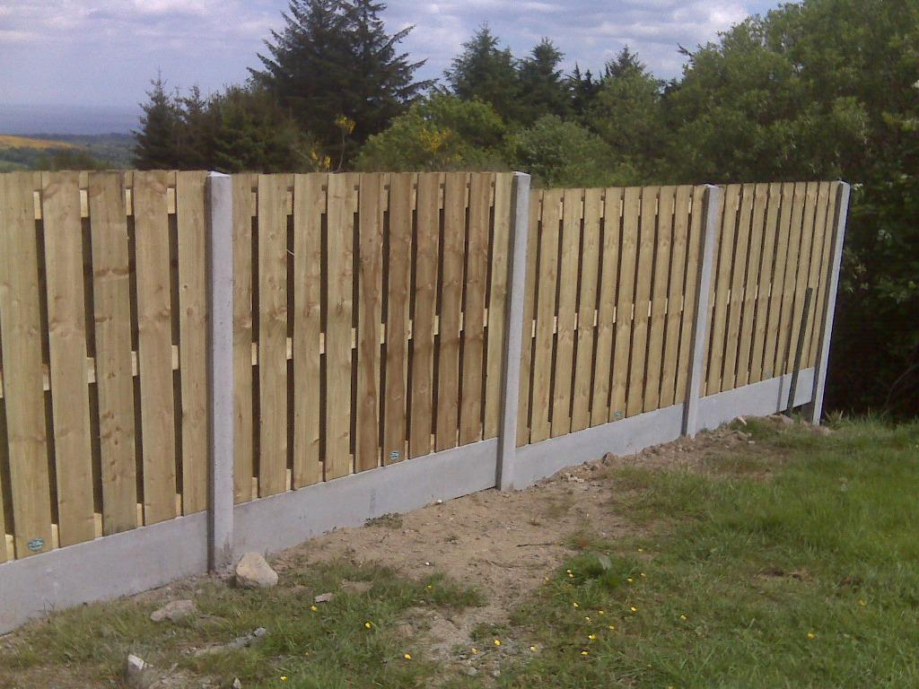 Picture of: Horizontal Wood Fence Panels Small