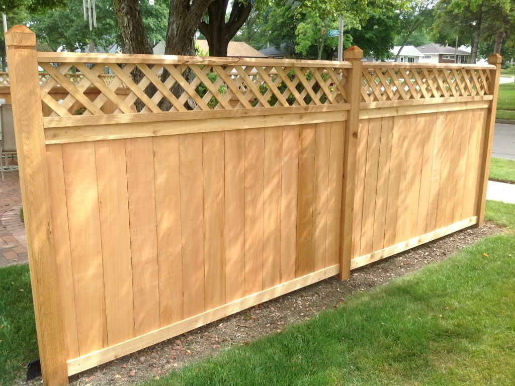 Picture of: Horizontal Wood Fence Panels Supply