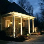 House Outdoor Ground Lighting