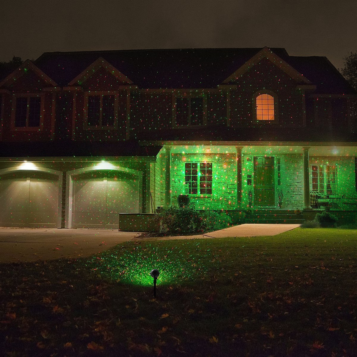 Picture of: House Outdoor Laser Light Projector
