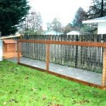 How to Build a Large Dog Fence Ideas