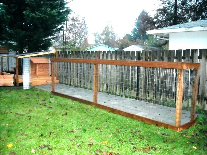 Picture of: How to Build a Large Dog Fence Ideas