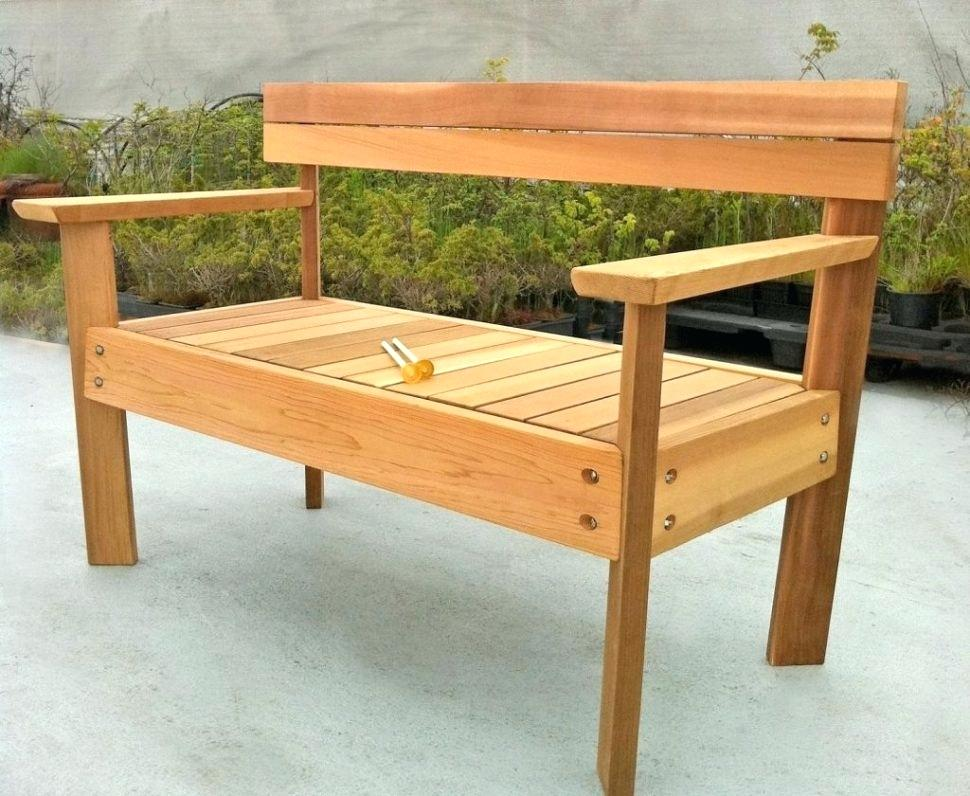 Picture of: How to Make a Wooden Bench Table