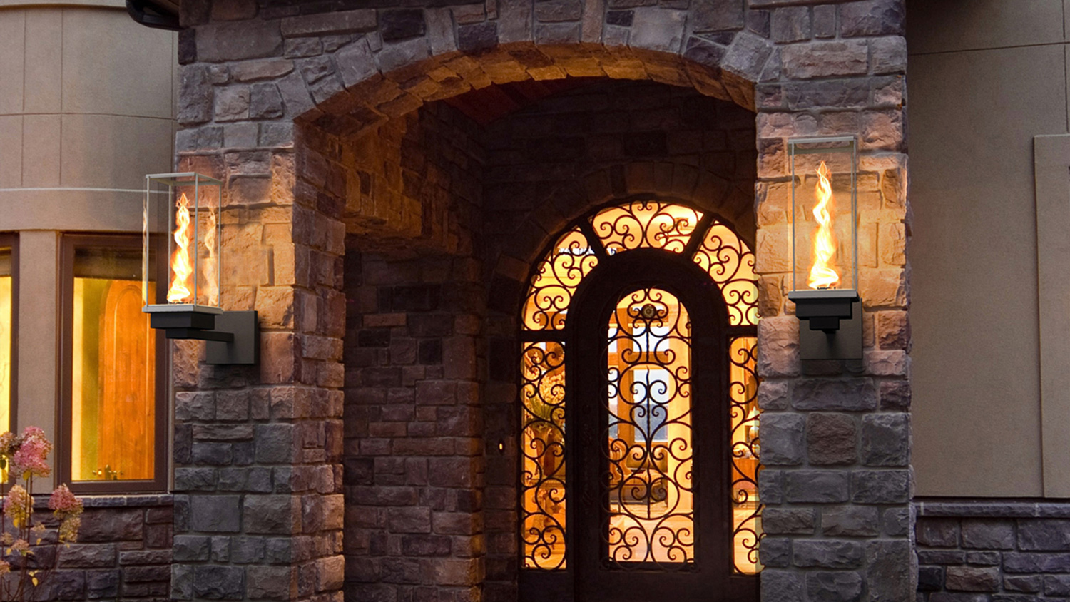 Picture of: Ideas Outdoor Gas Lights
