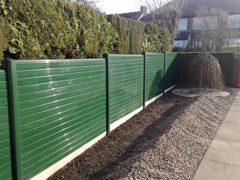 Picture of: Ideas Plastic Fence Panels