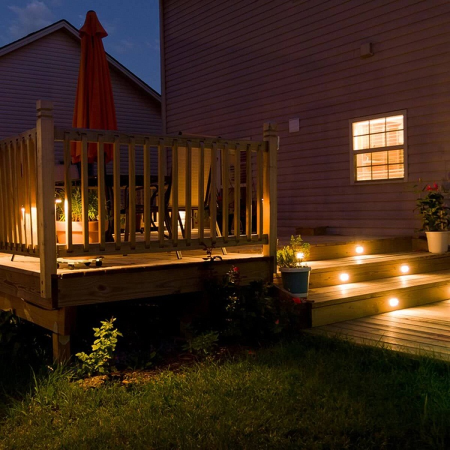 Picture of: Ideas for Outdoor Deck Lighting