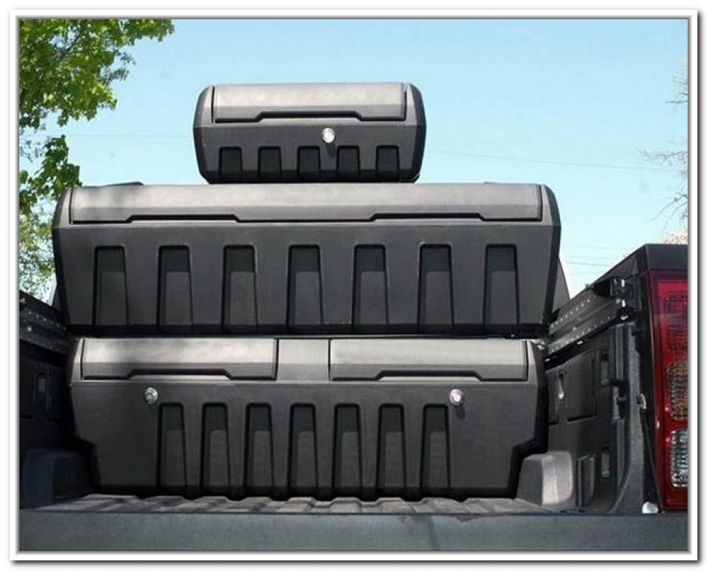 Image of: Image Truck Bed Storage Containers