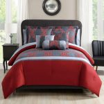 Incredible Red and Gray Comforter Sets