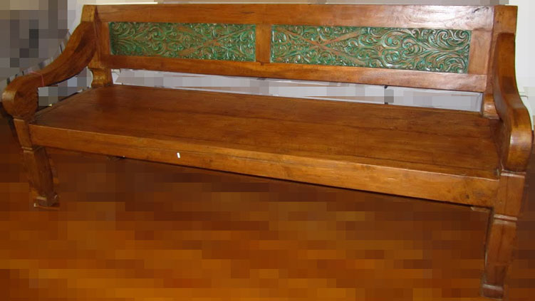 Image of: Indoor Wooden Benches Beauty