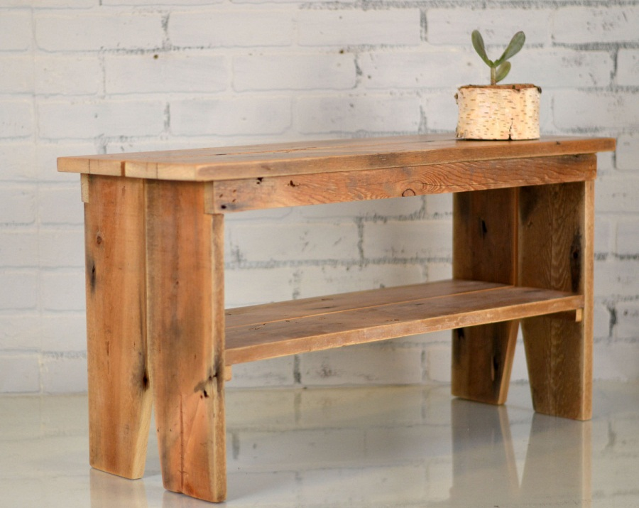 Image of: Indoor Wooden Benches Furniture