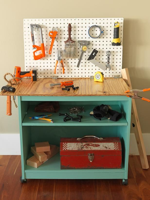 Picture of: Industrial Kids Wooden Bench