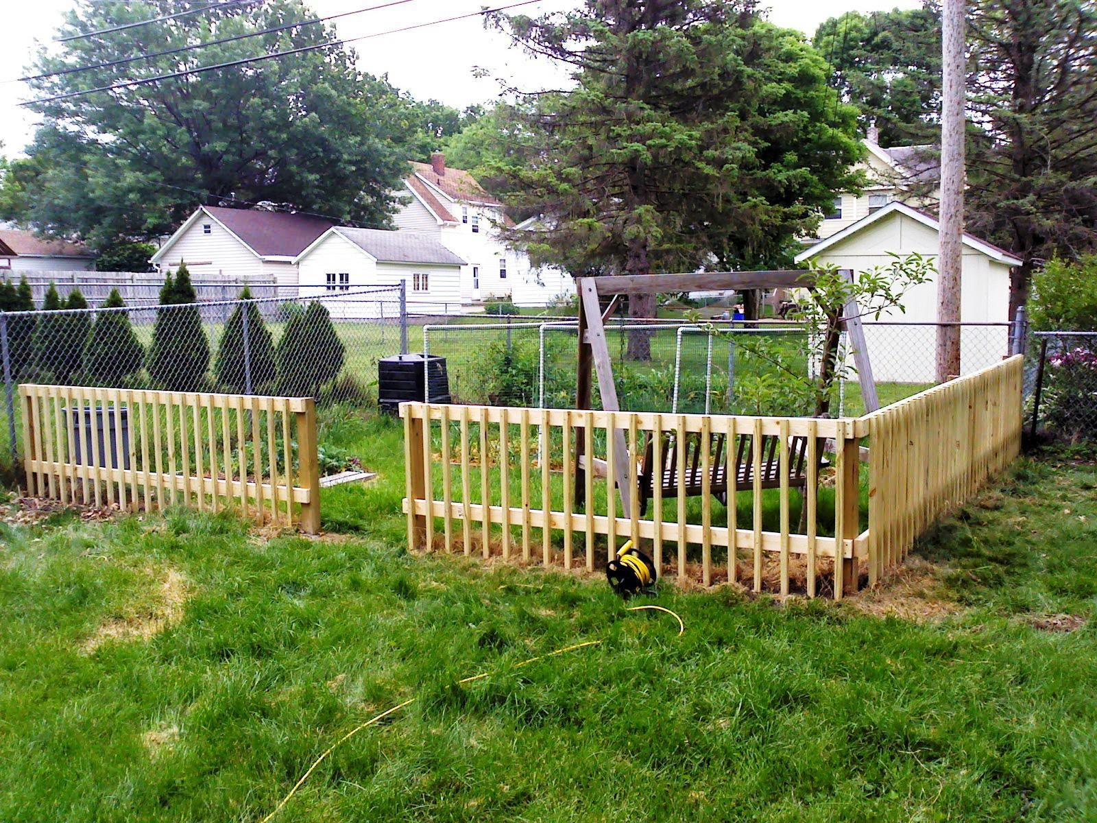 Inexpensive Yard Fences Low