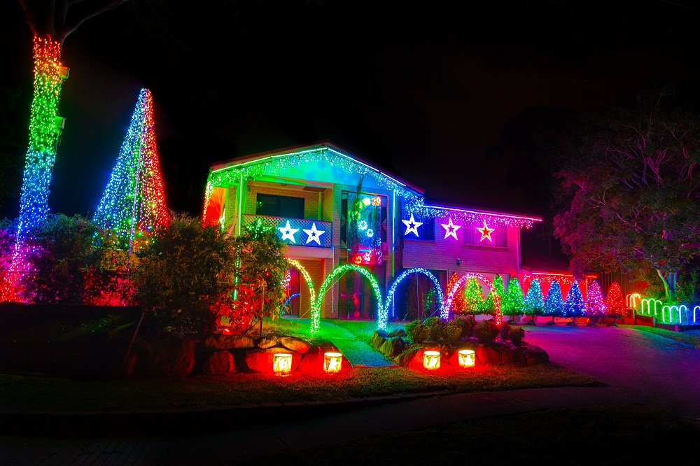 Picture of: Inspiration Outdoor Christmas Laser Lights