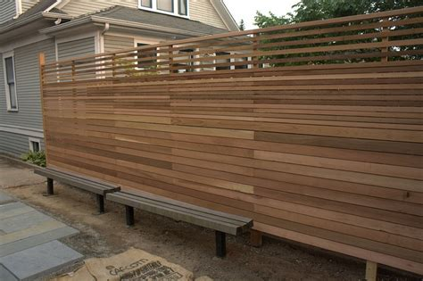 Picture of: Inspiring Horizontal Fence Panels