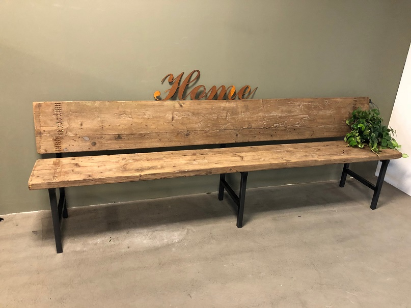 Image of: Install Indoor Wooden Benches