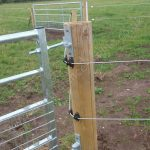 Installed Horse Fence Ideas