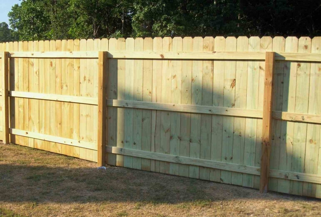 Picture of: Installing Fence Panels Design