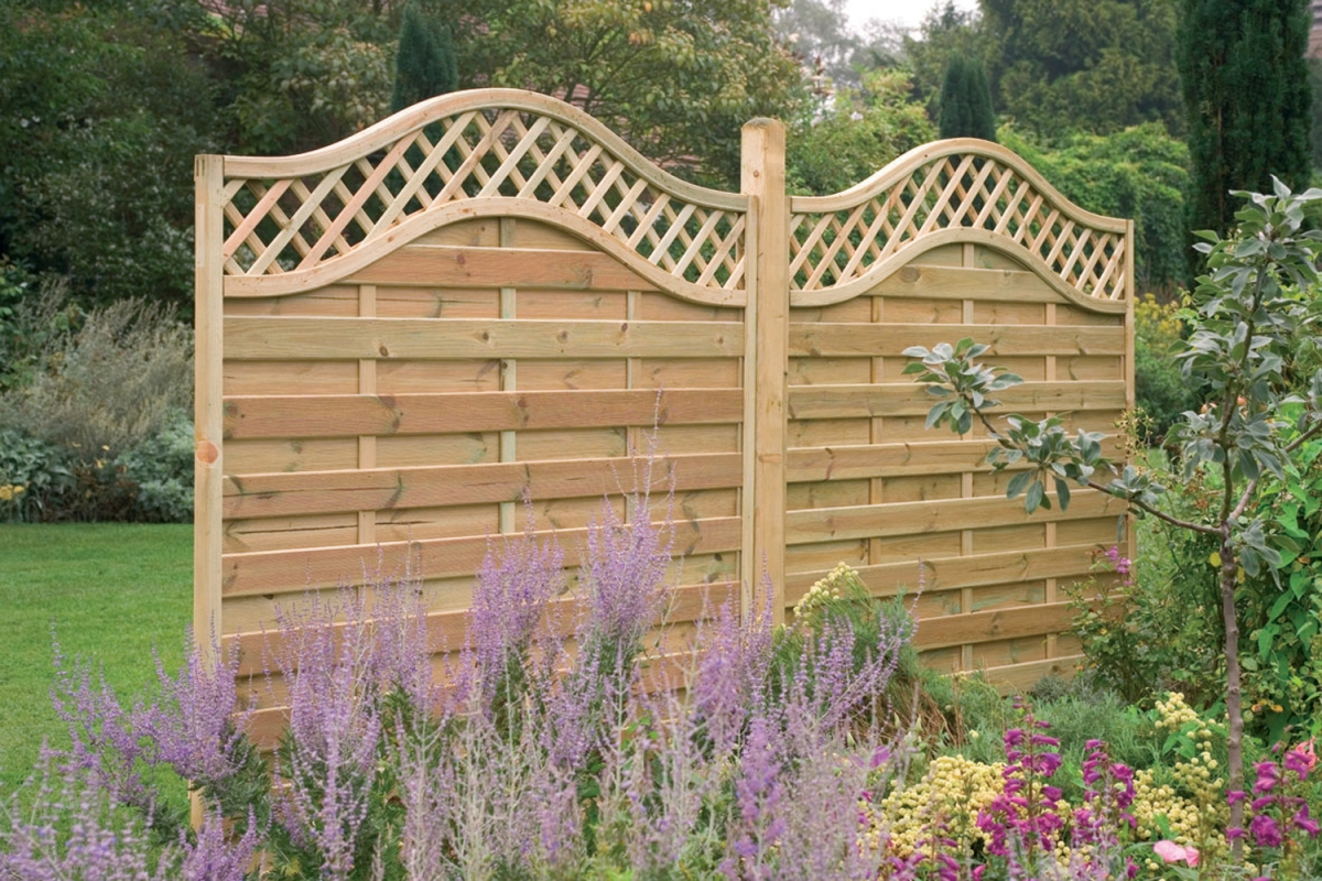 Picture of: Installing Fence Panels Idea