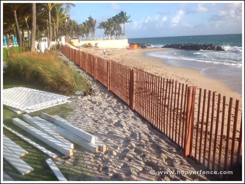 Picture of: How to Put Up a Plastic Snow Fence Ideas