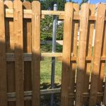 Installing a Wood Fence Panels