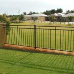 Iron Privacy Fence Ideas For Backyard