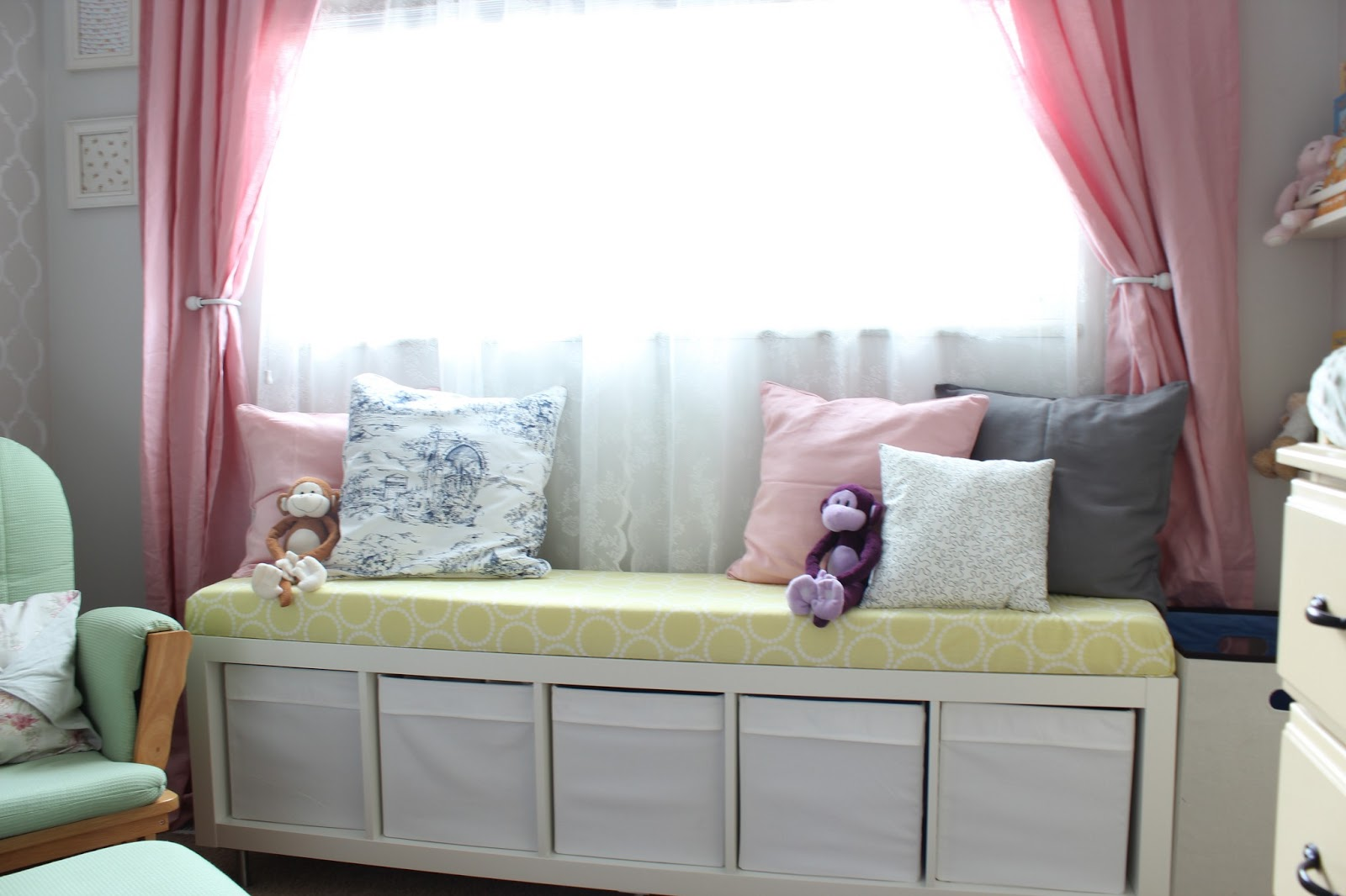 Picture of: Kids Window Bench Seat Cushions