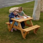 Kids Wooden Bench Set