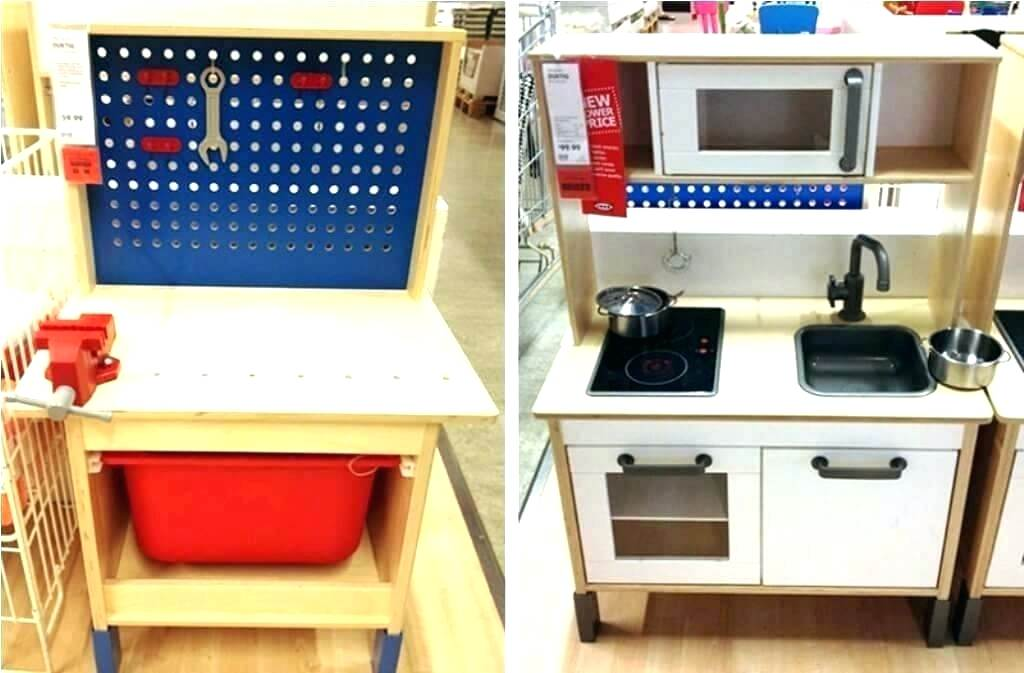 Picture of: Kids Wooden Tool Bench Color