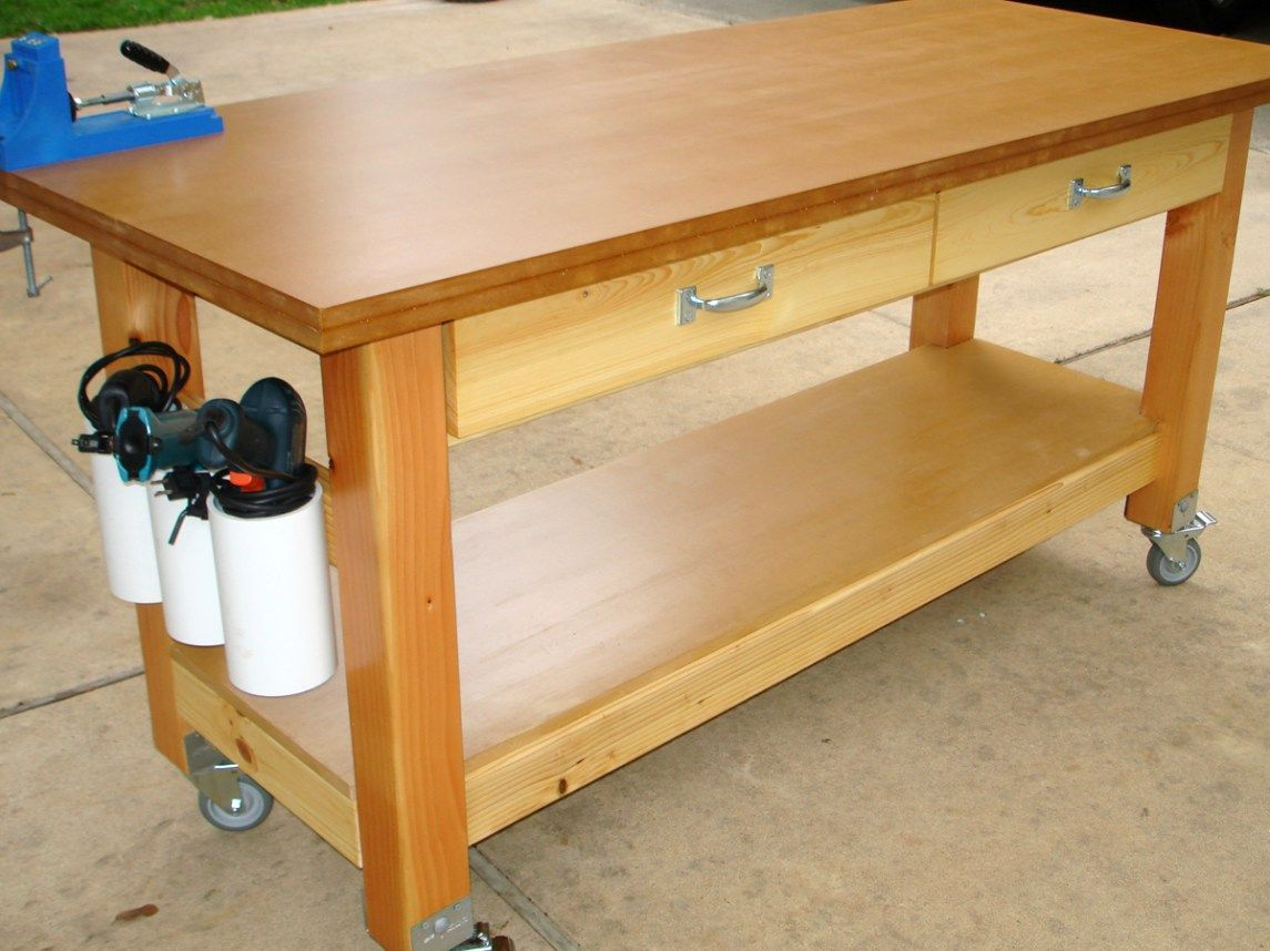Picture of: Kids Wooden Tool Bench Model
