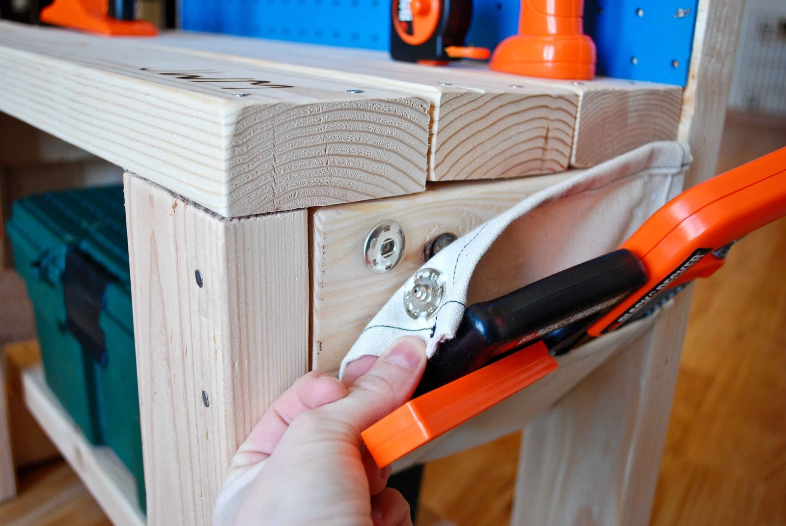 Picture of: Kids Wooden Tool Bench Type